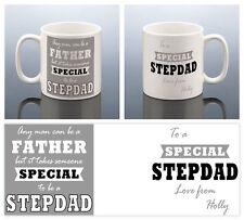 STEPDAD MUG PERSONALISED Birthday Gift for Stepdad MUG Best Step Dad Cup Stepdad