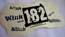 Blink 182  sticker Licensed punk rock travis barker logos