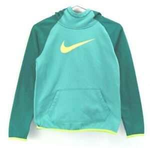 Nike Youth Large Long Sleeve Polyester Athletic/Active Wear Fall/Winter Hoodie