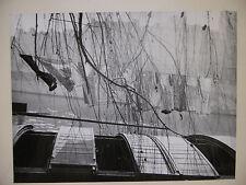 """Photographie Tirage Argentique LUC IONESCO  """"Péniche""""vers 1950   PH15"""