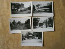 Original Streetcar Trolley Photograph Scholes