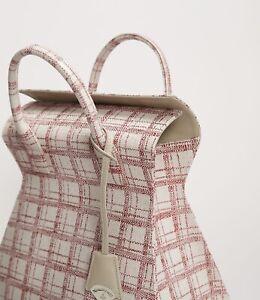 NEW Vivienne Westwood Purse Bag Kelly Pink Red Tweed
