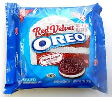 OREO RED VELVET Sandwich Cookies Cream Cheese Flavored Filled Nabisco 12.2 Oz