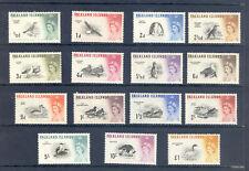 FALKLAND ISLANDS  SG193-207 1960 BIRD DEFINITIVE SET M/M