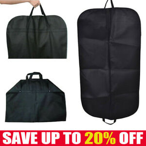 Foldable Suit Cover Clothes Bag Breathable Garment Travel Storage Bags NEW F