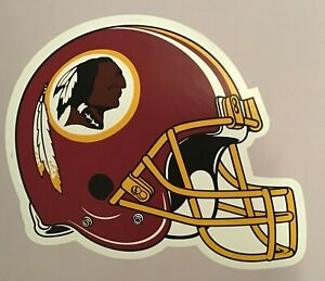 """Washington REDSKINS FATHEAD Official Team Helmet Graphic 15x12"""" NFL Poster Decal"""