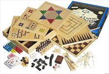 Spielesammlung groß 100 Spielmöglichkeiten Familienspiele