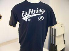 Tampa Bay Lightning NHL Old Time Hockey Adult XL Tee Shirt