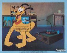 dominique Bloc 67 (complète edition) neuf avec gomme originale 1981 walt Disneys
