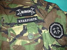 Shining Black Metal Camouflage DPM XXL Army Jacket Halmstad Sweden Angst DSBM