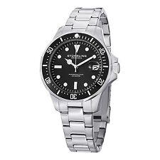 Stuhrling Original Men's 664.01 Aquadiver Quartz Stainless Steel Bracelet Watch