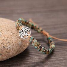 String Braided Jewelry Accessories Gift Natural Stone Bracelets Women Handmade