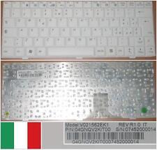 TECLADO QWERTY ITALIANO ASUS EEEPC EEE PC 1000 V021562EK1 04GNQV2KIT00 Blanco