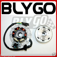 Magneto Stator Plate + Flywheel Roller YX 150cc 160cc PIT PRO Trail Dirt Bike