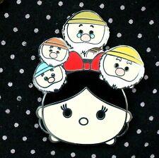 Disney Pin Snow White And The Seven Dwarfs Tsum Tsum Slider Free Shipping