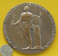 Hungarian Ministry of Finance award.Semi nude male w olive branch plaque 1935