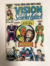 Vision & Scarlet Witch (1986) # 12 (NM) Direct | 1st App of twins Wiccan & Speed