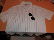 Fila Sunglasses Limited Edition Matchday Shirt Mens XL Stripes Made In Italy