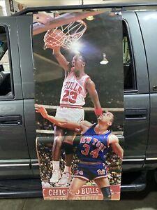 "6 Ft. 1988 Michael Jordan Slam Dunk Original Vtg Poster Costacos Bros 72"" X 26"""