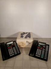 Lot of 2 Nortel Meridian Telephones No.9316 & 9417CW~Extras
