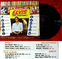 LP Elvis Presley Elvis For Everyone (RCA) RE