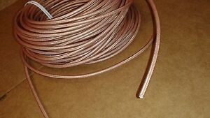 RG-400   M17/128 RF Double Shield Coaxial cable  25FT