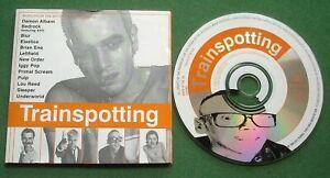Trainspotting Music From Film Underworld Iggy Pop Blur Lou Reed Pulp Eno + CD