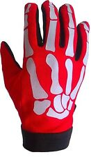 Motocross und Offroad Handschuhe in Rot