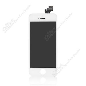 Display For Apple iPhone 5 OEM White LCD Touch Digitizer Assembly Replacement