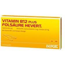 VITAMIN B12 plus Folsäure Hevert á 2 ml Ampullen 2X5 St PZN 1893951