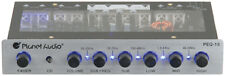 Planet Audio PEQ15 5 Band Equalizer Aux Input Master Volume Control