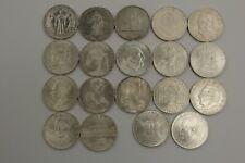 PRAGER: Österreich, 25 Schilling 1955 - 1973, 19 Stück, Silber [M19] #k