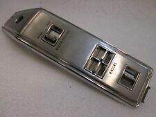 1971-76 Cadillac DeVille/Fleetwood, Buick. Master Window and  Door Lock Switch