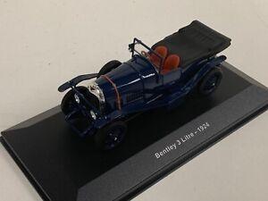 1/43 IXO Bentley 3 Liter from 1924 in Blue.   D199