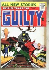 Justice Traps The Guilty (V11 #1) aka #91-1958 ..vg