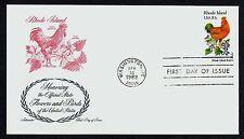 #1991 20c Rhode Island, Artmaster Fdc *Any 4=Free Shipping*