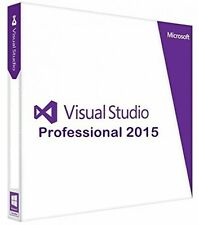 Visual Studio 2015 Professional LIFETIME with License Key - DOWNLOAD *WORLDWIDE*