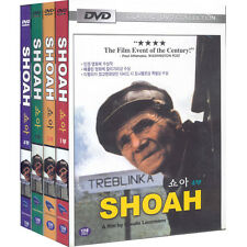 SHOAH,1985 - Claude La (4DVD,All,Sealed,New,Keep Case)