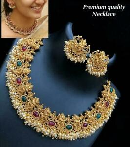 Gold plated ethnic Traditional Indian jewellery Exclusive Kasu wedding jewelry s