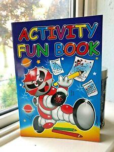 CHILDREN KIDS FUN ACTIVITY BOOK