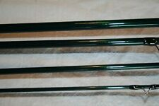 """T.L. Johnson Es Just Add Cork and Seat 9'6"""" 8wt. 4Pc Partial Rod Gloss Green"""