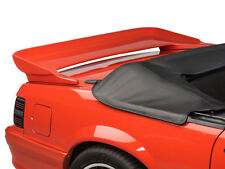 """1979-1993 Unpainted Ford Mustang Coupe/Convertible """"Saleen Style"""" 2post Spoiler"""