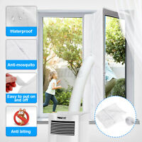 4m Window Frame Seal Cloth Adhesive Hook Strip Tape Portable for Air Conditioner