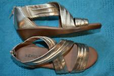 Supersoft Diana Ferrari Soft Gold Leather Strappy Sandals Size 7. NEW rrp$149.95