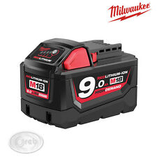 BATTERIA ORIGINALE MILWAUKEE M18B9 IONI DI LITIO 9AH 18V