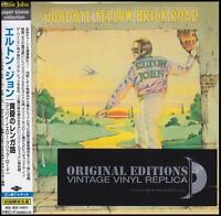 ELTON JOHN - GOODBYE YELLOW BRICK ROAD Vinyl Replica CD w/JAPANESE OBI *NEW*