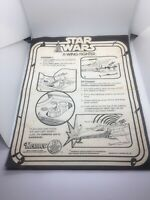 Vintage Star Wars X-Wing Fighter Instructions by Kenner