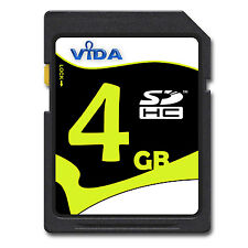 NEW 4GB SD SDHC MEMORY CARD FOR Fujifilm FinePix F100fd CAMERA