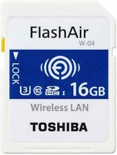 Toshiba Wireless Lan Scheda di memoria SDHC 16GB Class 10 UHS -1 Flash Aria SD-UWA016G