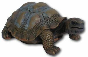 Large lifelike Tortoise ornament for indoor or outdoor dispaly